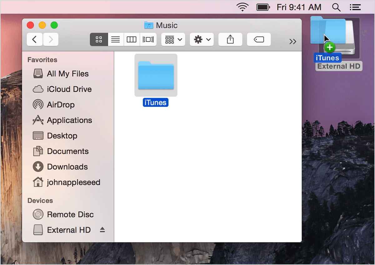 Transfer Music from Flash Drive to iTunes Library - transfer music from flash drive to itunes