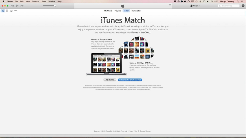 Come sincronizzare ipad con iTunes-iTunes match