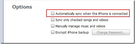 Sync music from ipod to itunes-Automatic Sync