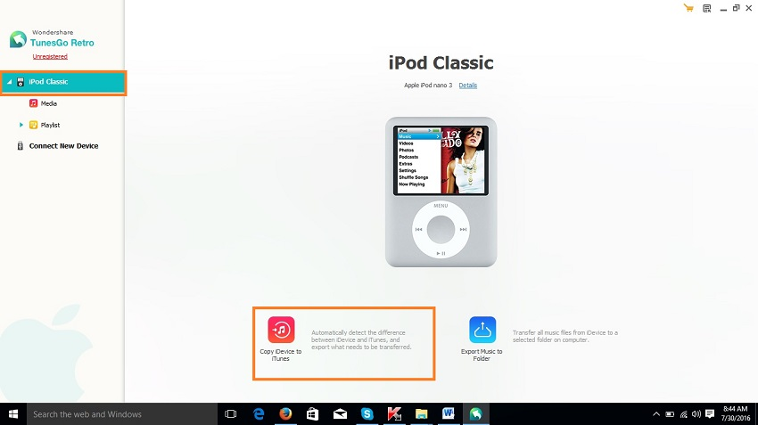 transfer videos from ipod to itunes-Copy iDevice to iTunes