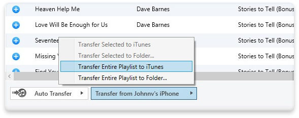 Transfer Music from iPhone to Mac by iExplorer