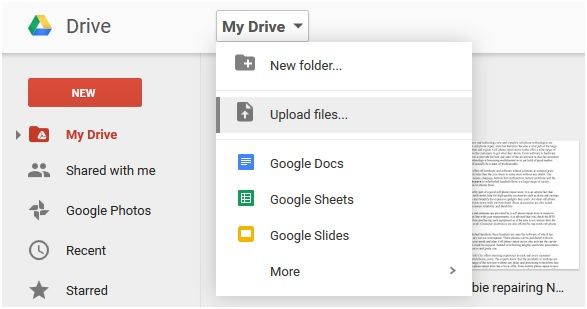 How to Transfer Music from iPad to iPod by Using Google Drive
