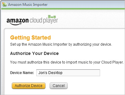 Put Music on iPhone without iTunes - Start Amazon Cloud