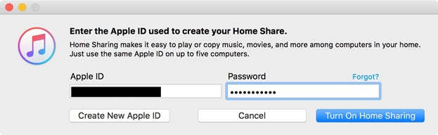 Put Music on iPhone without iTunes - Turn on Home Sharing