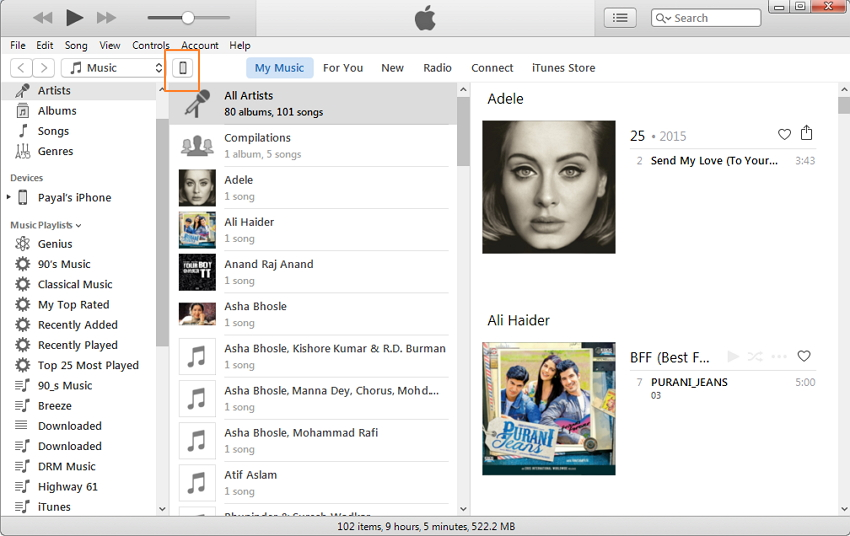 IPhone Music Manger & Transfer: Exportar / Importar / Eliminar / Corrigir música no iPhone com o iTunes