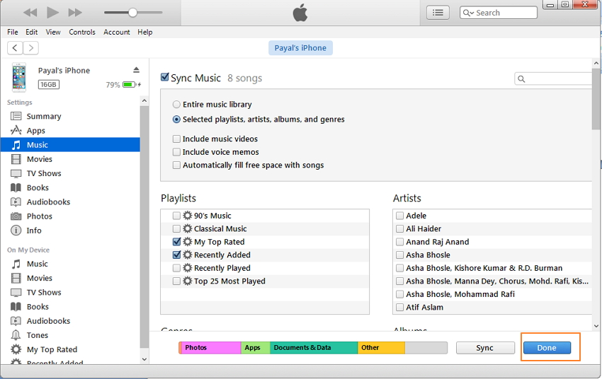 iPhone Music Manger & Transfer: Export/Import/Delete/Fix Music on iPhone with iTunes