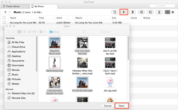 Transfer Music to iPhone from PC Without iTunes