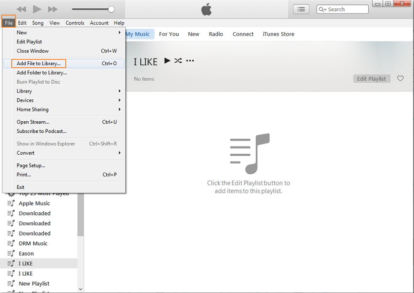 transfer music from PC to iPhone with Wondershare TunesGo