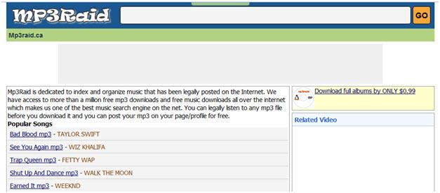 20 free music download websites.