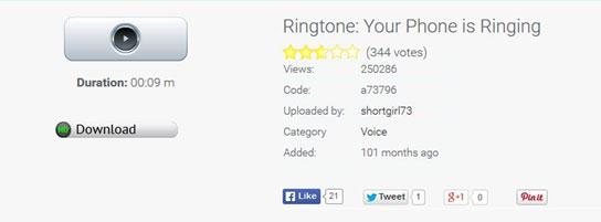 Free Ringtone Downloads for Mobiles