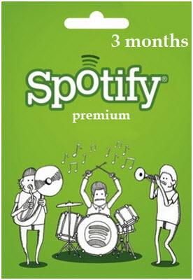 3 months free spotify premium