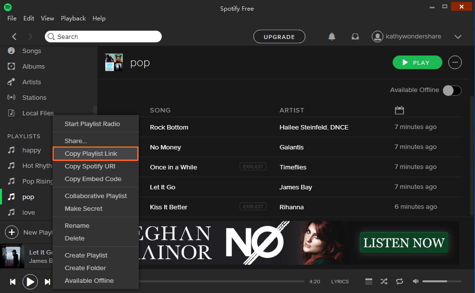 download songs from spotify