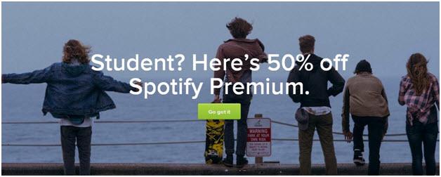 spotify premium estudiante
