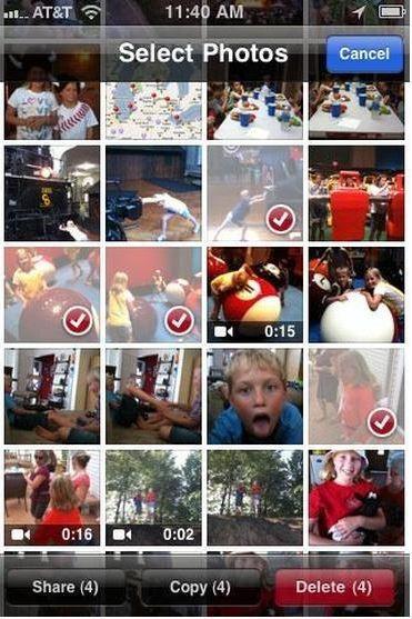 elimine fotos de iPad - Elimine manualmente fotos del iPad