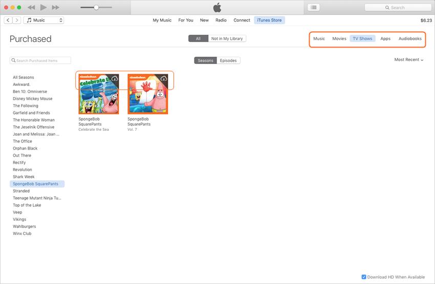 Transferir vídeo de iPad a iPad - Descarga las películas compradas en iTunes