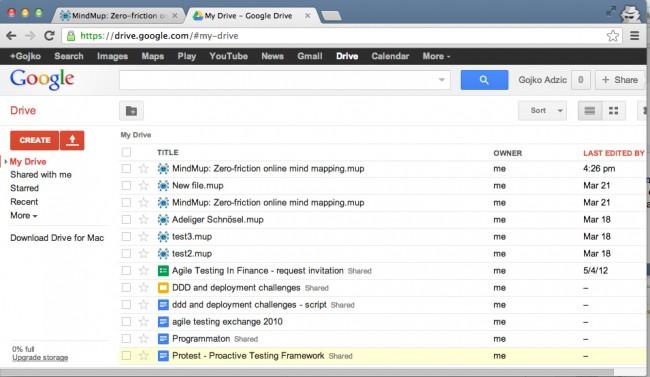 Transfiere videos desde el iPad a la PC usando Google Drive - Descarga los vídeos