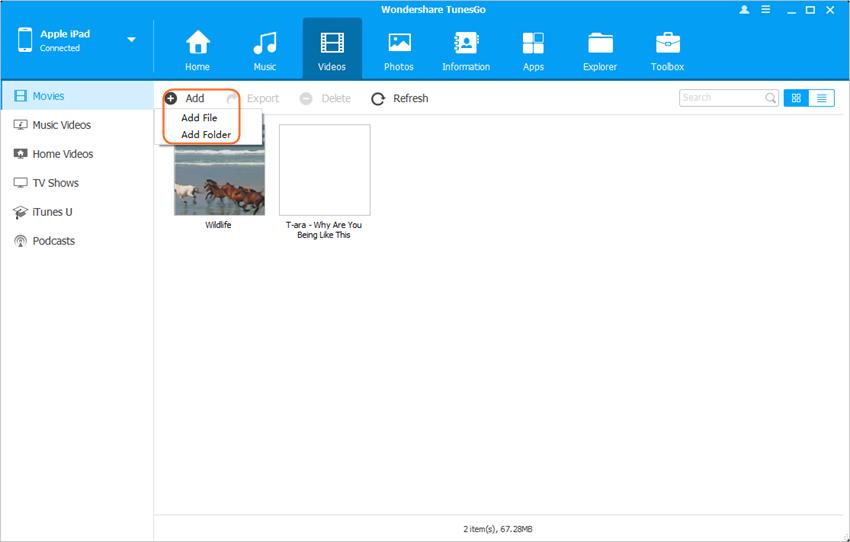 Moviendo Archivos desde Mac al iPad