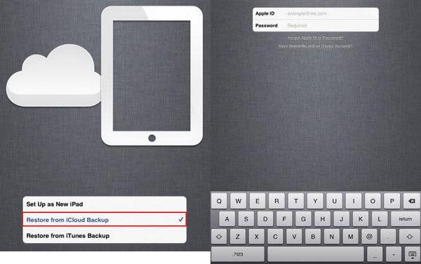 Mueve Archivos al iPad mini 2 - Restaura el iPad mini 2 desde el Respaldo de iCloud