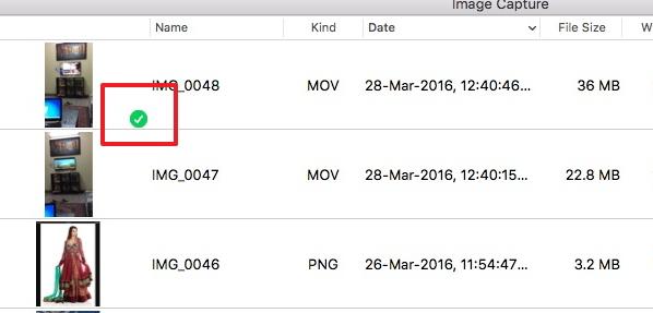 Transferir videos desde el iPad a la Mac con Image Capture - Transfiere los Vídeos