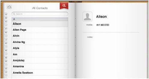 Transferir los contactos del iPhone a Gmail Usando iCloud