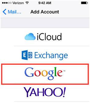 Sincronizar los contactos de iPhone directamente a Gmail