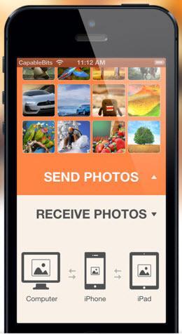 aplicación de transferencia de fotos de iPhone