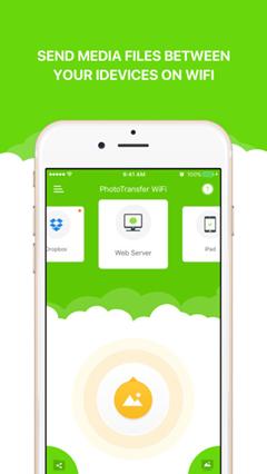 aplicación de transferencia de fotos para iPad