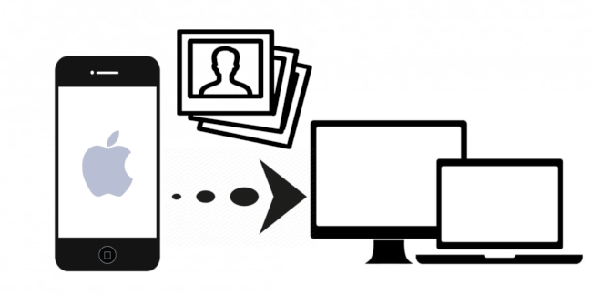 Transfiere Fotos desde el iPhone al Ordenador