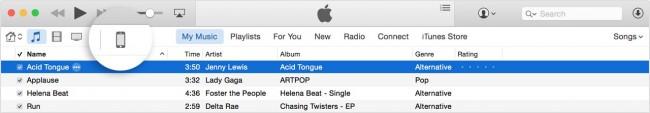 Editar listas de reproducción en el iPod-abrir iTunes