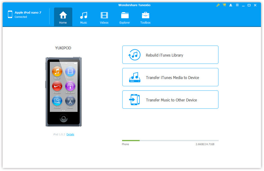 Eliminar canciones de iPhone/iPad/iPod-