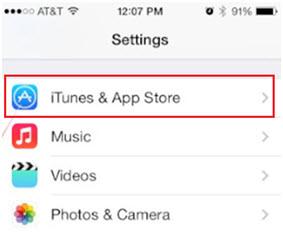 Eliminar Canciones Duplicadas en iPod/iPhone/iPad-pulsa iTunes y la tienda de aplicaciones