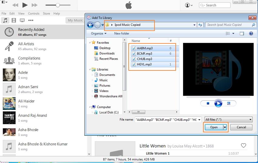 Cómo Agregar Música al iPod Manualmente por un puerto USB