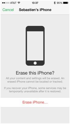 Formatea el iPod sin iTunes-confirma borrar el iPhone