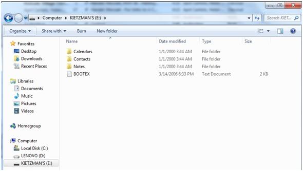 Cómo desbloquear el iPod Touch sin iTunes-Doble click en el ícono de iPod