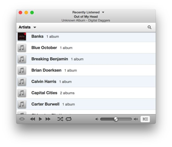 Alternativa a iTunes para Mac-Ecoute