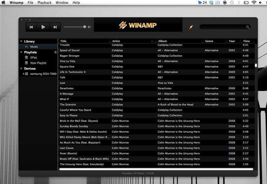 Top 9 alternativa a iTunes para Reproducir Música
