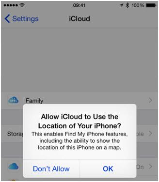 transferir música desde ipod touch a iTunes-Establecer preferencias de ubicación