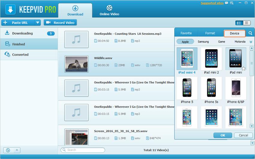 Comment transférer un DVD sur iPad avec iTunes