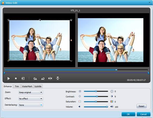 iPad DVD Converter - Edit iPad Video
