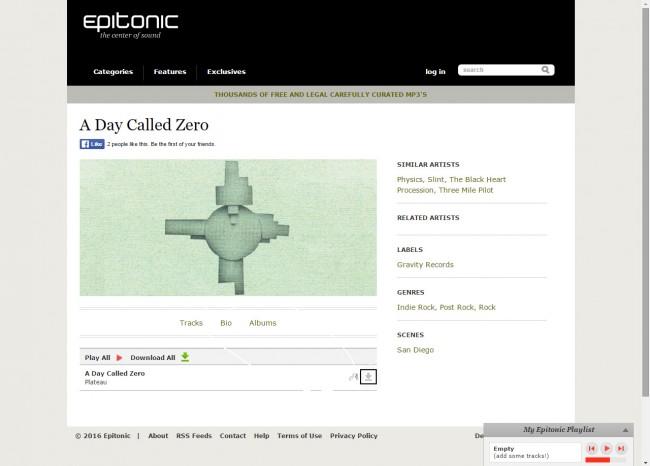 Télécharger de la musique de Epitonic vers PC - Télécharger Musique
