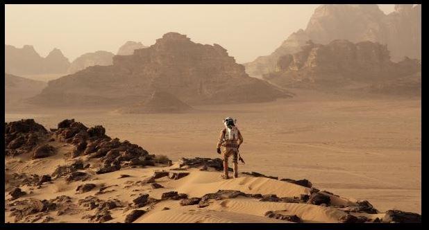 Top 10 des films anglais - The Martian