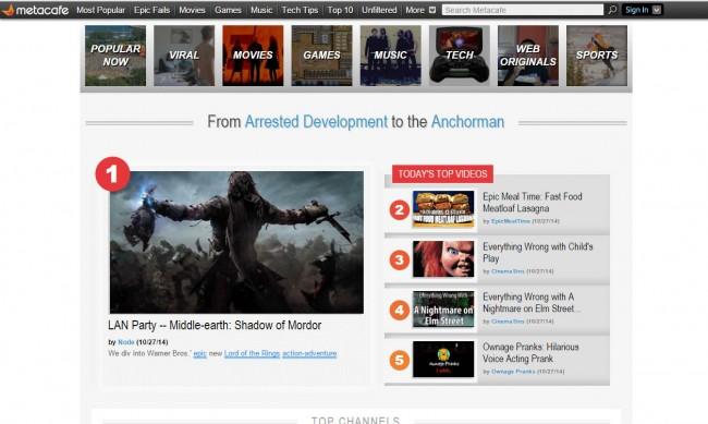 Top 5 des sites de téléchargement de vidéos gratuits pour PC - ouvrir le site web et choisir la vidéo