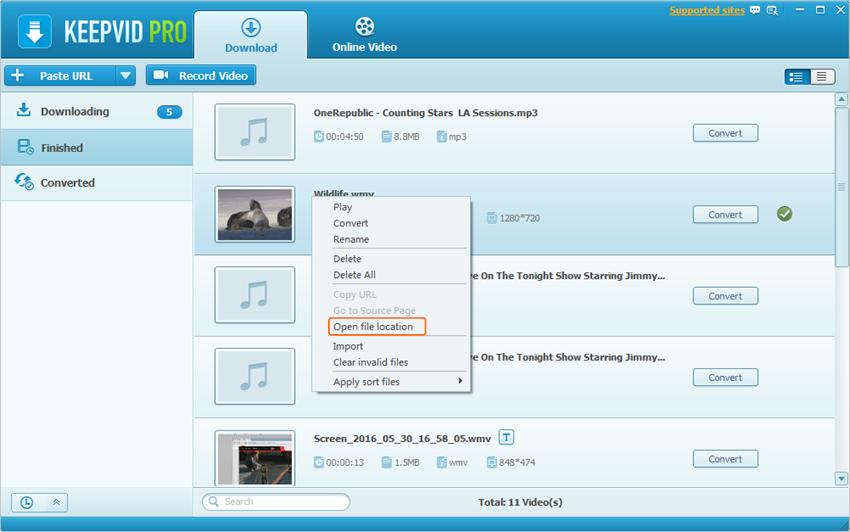 Comment convertir et graver des vidéos d'un PC à un DVD