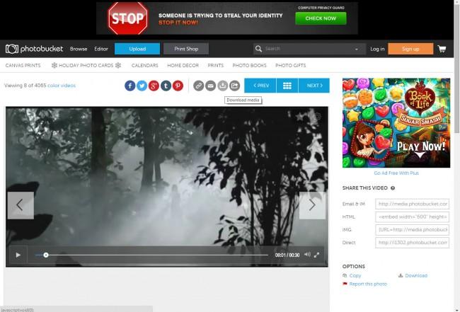 Les 5 meilleurs sites de téléchargement de vidéos gratuits pour PC-Photobucket- Télécharger la vidéo