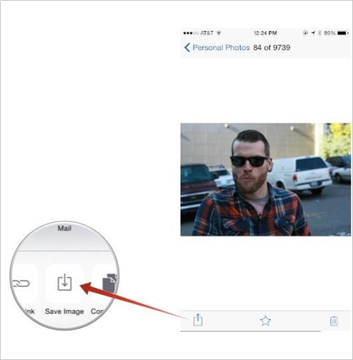 Transférer des photos d'iPod vers iPad en utilisant la bibliothèque de photos iCloud ou Photo Stream