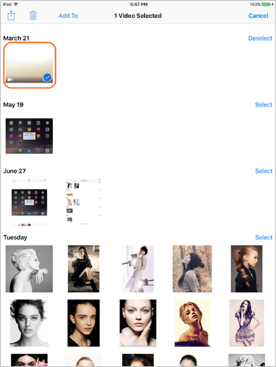 Transférer des fichiers d'iPad vers PC en utilisant votre courrier électronique - Trouver des fichiers sur votre iPad