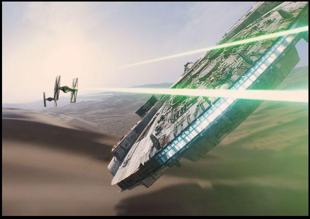 Le Top 10 des films anglais - Star Wars: Le réveil de la force