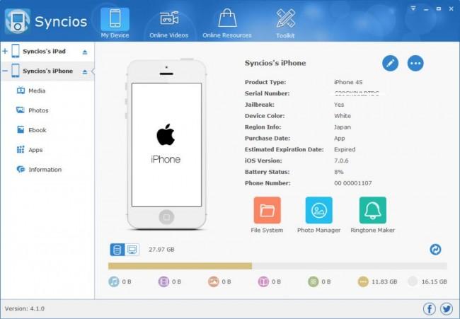Transférer des notes d'iPhone vers iPad en utilisant des logiciels tiers - Syncios