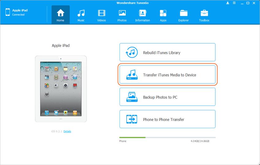 Un ordinateur et plusieurs iPhones, iPads et iPods - Ajouter de la musique à iPad