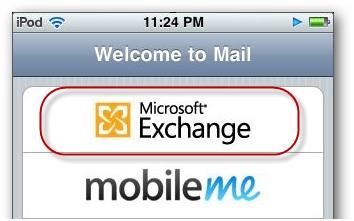 Synchroniser l'agenda de l'iPhone - Configurer Hotmail sur iPhone